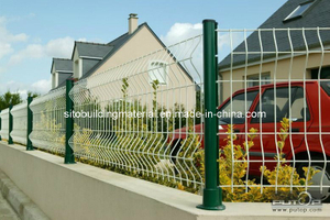 Residential PVC Coated Wire Mesh/Fence Netting/Fence Panel/Welded Wire Mesh Fence/Road Fence