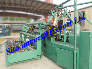 Fence Netting Machine, Ire Mesh Fence Equipment, Chainlink Fence Machine