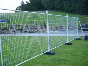 Temporary Fence Panels/Crowd Control Fence/Fence Netting/Fence Panel/Steel Pipe Fence