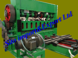 Wire Mesh Machine, Expanded Wire Mesh Machine, Expanded Sheet Machine